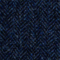 Blue 96% Wool 4% Cashmere Custom Suit Fabric
