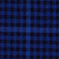 Blue&Black 100% Super 140'S Wool Custom Suit Fabric