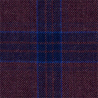 Plum 100% Super 140'S Wool Custom Suit Fabric