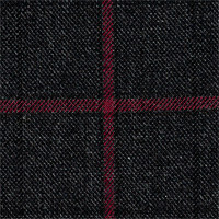 Charcoal 100% Super 140'S Wool Custom Suit Fabric