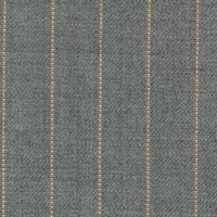 Light Gray 99% S100's Worsted 1% Cashmere Custom Suit Fabric