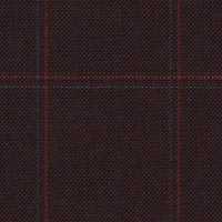 Maroon 99% S100's Worsted 1% Cashmere Custom Suit Fabric