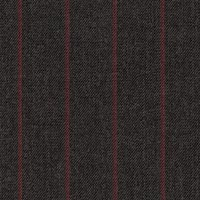 Charcoal 95% Super 160S Wor 5% Cashmere Custom Suit Fabric