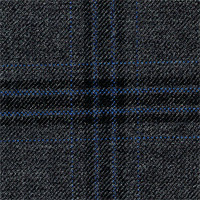 Dark Gray 100% Super 100'S Wool Custom Suit Fabric
