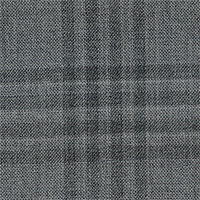 Gray 88% Wool 12% Silk Custom Suit Fabric