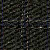 Dark Olive 100% Super 100'S Wool Custom Suit Fabric
