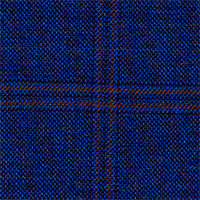 Royal Blue 100% Super 120'S Wool Custom Suit Fabric