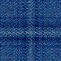 Light Blue 100% Super 120'S Wool Custom Suit Fabric