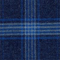 Slate Blue 100% Super 120'S Wool Custom Suit Fabric