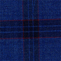 Dark Blue 100% Super 140'S Wool Custom Suit Fabric