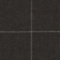 Charcoal 100% Superfine Merino Wool Custom Suit Fabric