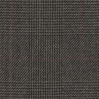 Gray 100% Superfine Merino Wool Custom Suit Fabric