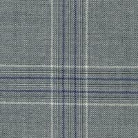 Navy&White 100% Super 170S Worsted Custom Suit Fabric