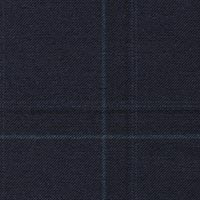 Midnight 100% Super 170S Worsted Custom Suit Fabric