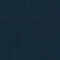 Navy 100% Super 170S Worsted Custom Suit Fabric