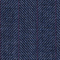 Blue Gray 100% Super 100'S Wool Custom Suit Fabric