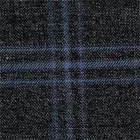 Char Gray 100% Super 140S Wool Custom Suit Fabric