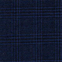 Navy 100% Super 140S Wool Custom Suit Fabric