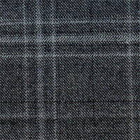 Gray 100% Super 140S Wool Custom Suit Fabric