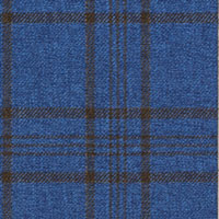 Sky Blue 100% Super 100'S Wool Custom Suit Fabric