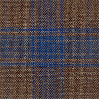 Brown 100% Super 100'S Wool Custom Suit Fabric