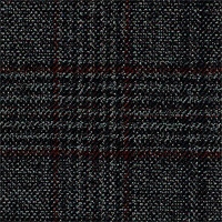 Char Gray 100% Super 100'S Wool Custom Suit Fabric