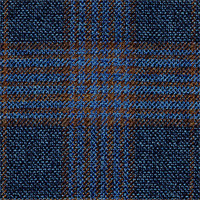 Denim 100% Super 120'S Wool Custom Suit Fabric