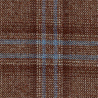Heather Brown 100% Super 140'S Wool Custom Suit Fabric