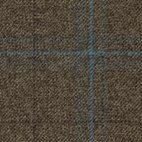 Brown 100% Wool Worsted Custom Suit Fabric