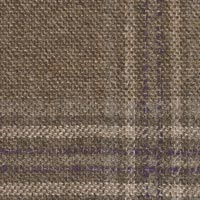 Brown 90% S110's Wool 10% Cashmere Custom Suit Fabric