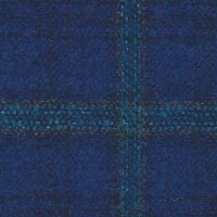 French Blue 90% S110's Wool 10% Cashmere Custom Suit Fabric