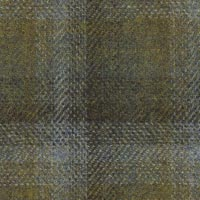 Olive 90% S110's Wool 10% Cashmere Custom Suit Fabric