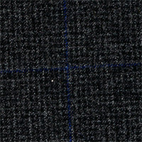 Charcoal 100% Super 160'S Wool Custom Suit Fabric