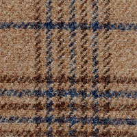 Tan 100% Escorial Custom Suit Fabric