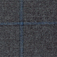 Gray 100% Wool (Heritage) Custom Suit Fabric