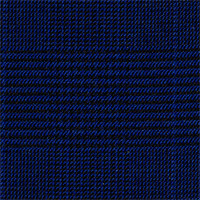 Blue 100% Super 160'S Wool Custom Suit Fabric