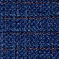 Blue 100% Super 140`S Wool Custom Suit Fabric