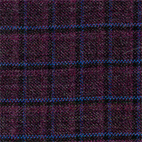 Purple 100% Super 140`S Wool Custom Suit Fabric