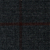 Charcoal 90% Revenge S150`S 10% Cash Custom Suit Fabric
