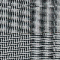 Gray 100% Super 150`S Wool Custom Suit Fabric