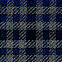Gray&Blue 100% Superfine Wool Custom Suit Fabric
