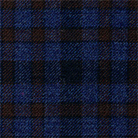 Blue&Brown 100% Superfine Wool Custom Suit Fabric