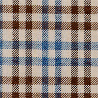 Brown&Blue 100% Superfine Wool Custom Suit Fabric