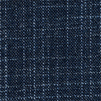 Charcoal&Blue 97% Wool 3% Silk Custom Suit Fabric