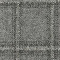 Light Gray 90% S110s Wool 10% Cashmere Custom Suit Fabric