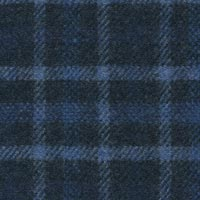 Blue 90% S110s Wool 10% Cashmere Custom Suit Fabric