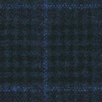Navy 90% S110s Wool 10% Cashmere Custom Suit Fabric