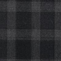 Gray&Black 95% S130s Worsted 5% Cashmere Custom Suit Fabric