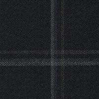 Black Gray 95% S130s Worsted 5% Cashmere Custom Suit Fabric
