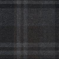 Brown Gray 95% S130s Worsted 5% Cashmere Custom Suit Fabric